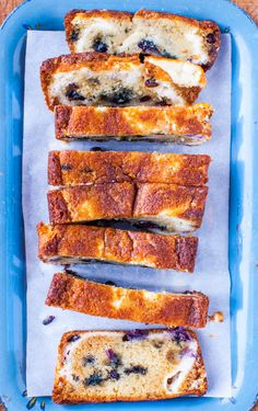 Blueberry Muffin Bread: tastes more like dense cake-meets-muffin-top, gets better with age