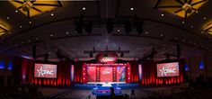 design foundry; CPAC; stages; lighting; custom events; custom stage; draping; backdrops; custom panels; projector screens Projector Screens, Stage Design, Draping, Backdrops, Fair Grounds, Events, Lighting, Travel, Set Design