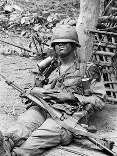 1st Air Cav soldier ~ Vietnam War