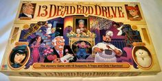 13 Dead End Drive 1993 Milton Bradley Unpunched Complete #MiltonBradley