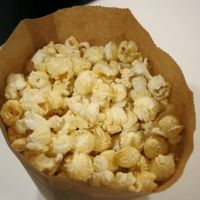 Home made Kettlecorn. So good! I made this with my air popper and it was super yummy! Going to try this one out. The stove-poped kettle corn was an epic failure! LOL