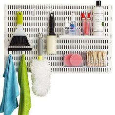 White elfa utility Board  Laundry Solution | Spring Organization Sale