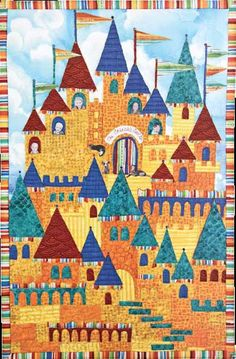 Free Pattern: Family Castle – AQS OnPoint