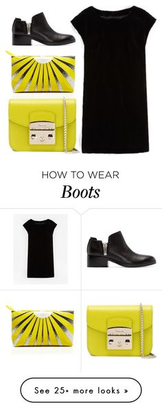 """Untitled #5701"" by cherieaustin on Polyvore featuring Burberry, 3.1 Phillip Lim, Furla and Boden"