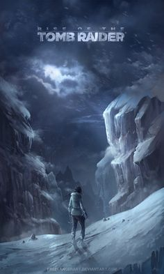 Ok, haha, sorry more Lara Croft art :D but yeeeahhh, mysterious mountain pass and everything!