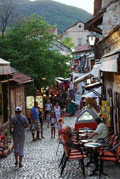 Streets of Mostar, Bosnia Hercegovina Visit Prague, Islamic Quotes Wallpaper, Bosnia And Herzegovina, Dubrovnik, Eastern Europe, Cool Places To Visit, Croatia, Mostar Bosnia, Greece