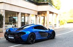 Wow! Watch Lewis Hamilton take a delivery of this magnificent McLaren P1 in Monaco...