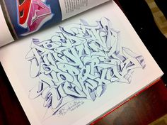 Alphabets - graffiti \ street art - 153 photos | VK Graffiti Designs, Graffiti Art, Graffiti Letters Styles, Graffiti Lettering Alphabet, Graffiti Piece, Graffiti Tattoo, Tattoo Lettering Fonts, Graffiti Drawing, Cool Lettering