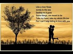Can't Help Falling In Love - Elvis Presley (With The Royal Philharmonic) - YouTube
