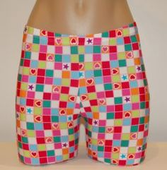 Checkerboard Hearts :: Shorts/Spankies :: Spandex Compression Shorts and Athletic Wear for Volleyball, Soccer, Field Hockey, Lacrosse, Running and all sports from #bskinz