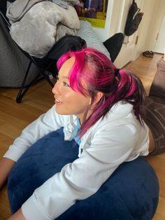 Hair Color Streaks, Red Hair Color, Cool Hair Color, Pink Purple Hair, Green Hair, Hair Inspo, Hair Inspiration, Coloured Hair, Dye My Hair