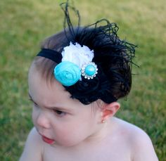 San Jose Sharks Baby - Teal Headband - Baby Headband - Photo Prop Headband on Etsy, $12.99