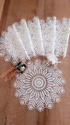Free Crochet Doily Patterns, Crochet Mat, Crochet Doily Diagram, Crochet Stars, Crochet Circles, Crochet Motifs, Crochet Borders, Crochet Round, Cotton Crochet