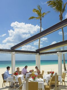 Mickeys Bistro And Bar — right on the water at Elbow Beach Bermuda. Pin provided by Elbow Beach Cycles http://www.elbowbeachcycles.com
