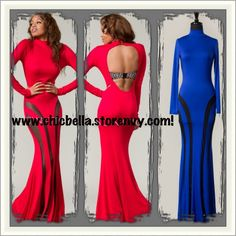 It's sumthin' about the color RED........ I think this dress speaks for itself!!!