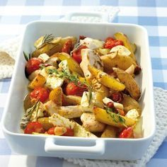 Weight Watchers Recepten Propoints Food Ideas For 2019 Ww Recipes, Greek Recipes, Cooking Recipes, Healthy Recipes, I Love Food, Good Food, Greek Potatoes, Happy Foods, Baked Chicken Recipes