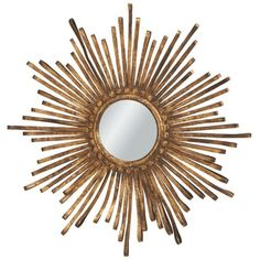 Soleil Wall Mirror....I have something just like this in my living room (from pier 1) and I loooove it!