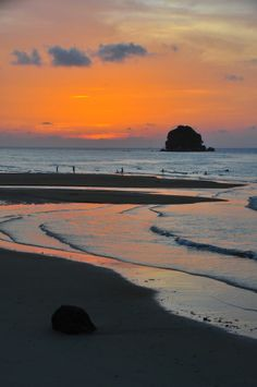 Tioman #Malaysia, beach at sunset - Strand auf Tioman bei Sonnenuntergang
