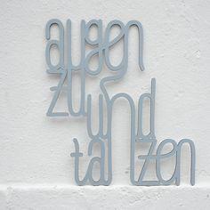 Motivierender Spruch für die Wohndeko / motivating saying for home decor made by Westpaket via DaWanda.com