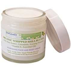 Shea Butter is probably the only ingredient you will ever really need to put on your skin to nourish, rejuvenate and protect.  We enrich Organic Shea Butter with highest quality Almond Oil, Calendula, Evening Primrose, Rose & Geranium Essential Oils and Vitamin E, which are ingredients that are absolute bliss for even the most sensitive skin and heal and balance problem and dry skin.  www.gerlindenaturals.com