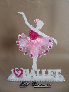 Bailarina Modelo I Love Ballet 18 Cm Paper Flowers Craft, Quilling Paper Craft, Giant Paper Flowers, Flower Crafts, Diy Arts And Crafts, Handmade Crafts, Crafts To Make, Diy Crafts, Ballet Crafts