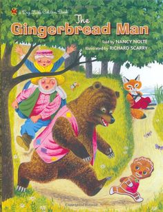 §§§ . The Gingerbread Man ~ Richard Scarry 1953
