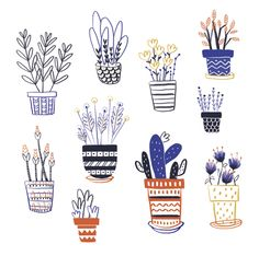 My plants on Behance