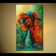 Floral painting - Love is in the Air