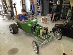 Com um bom motor de 50cc isso deve ser uma fera!