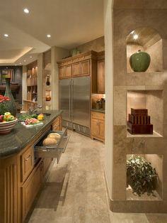 Kitchen: Debra May Himes Interior Design.