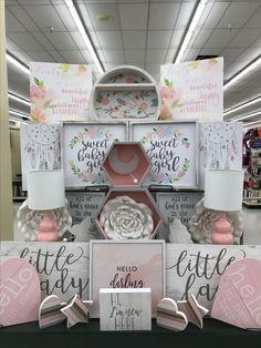 Pink Gold Bedroom Toddler Rooms Babies Hobby Lobby Wall Art Kaia Jordan Neutral Nurseries Baby Room Lobbies