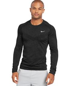 ba6c77f3190ec Nike Long-Sleeve Dri-FIT Performance T-Shirt   Reviews - All Activewear -  Men - Macy s