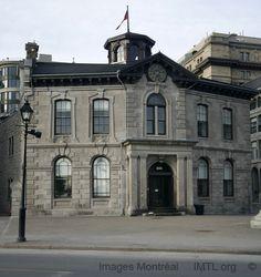 Edmonstone, Allan & Co Building, 333 de la Commune Street, Montreal built in 1859