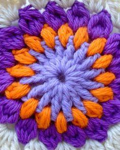 Crochet step by step 1 square crochet crochet square step – Artofit Granny Square Häkelanleitung, Granny Square Crochet Pattern, Crochet Squares, Crochet Granny, Crochet Motif, Knit Crochet, Crochet Patterns, Crochet Home, Love Crochet
