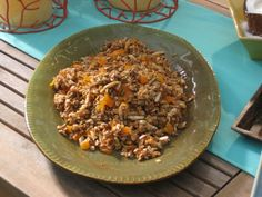 Instead of serving up store-bought granola, make your own mix studded with mango and almonds plus sunflower and pumpkin seeds. Serve with Greek yogurt.