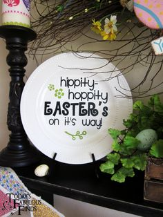 Today's Fabulous Finds: Easter Egg Hunt Vignette