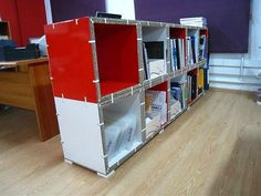 X-Board Bookshelf by Xanita.com, via Flickr