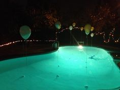 teens pool party decor | decorations should be understated at teen