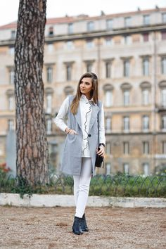 larisa costea, larisa costea blog, themysterious girl, the mysterious girlblog, fashion blog, fashion blogger, fashionista, travelblog, traveller, rome, ruins, roma, italy, italia, all white, white shirt, embroidery, hand collar,profile faces, grey vest, shein,romwe, zara,pants, white pants,kurtmann, kurtmann.ro, sheinside, miista, boots, lace boots, black boots, black bag, chloe, daniel wellington watch, look of the day, it girl, ootd, outfit of the day, lotd, inspiration, outfit, what to…
