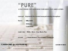 """""""Pure"""" modern concept for young generation customer"""