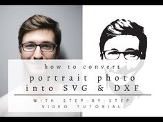 Learn How to Convert a Portrait Photo Into SVG & DXF Cuttable File by Caluya Design. With this vide tutorial, you can turn photo of your loved ones into SVG file, cut them with your Cricut or Cameo Silhouette.
