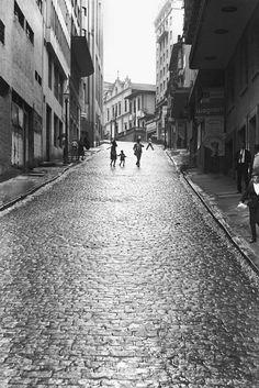 Largo São Francisco, anos 60 - Photo Carlos Moreira