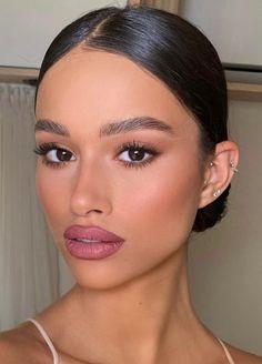 Cool Makeup Looks, Bridal Makeup Looks, Perfect Makeup, Pretty Makeup, Wedding Makeup, Natural Makeup Looks, Classy Makeup, Glam Makeup, Beauty Makeup