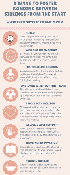 8 ways to foster bonding between siblings from the start. Download your handy pdf.