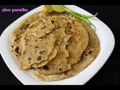 aloo paratha recipe or potato stuffed paratha-punjabi aloo ka paratha-ho...