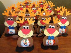 Christmas Treat Bags, Its Christmas Eve, Cute Christmas Gifts, Office Christmas, Homemade Christmas Gifts, Christmas Cards To Make, Christmas Candy, Christmas Holidays, Christmas Ornaments