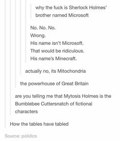 Misfortune Holmes is the Bisquick Cabbagepatch of fictional characters....