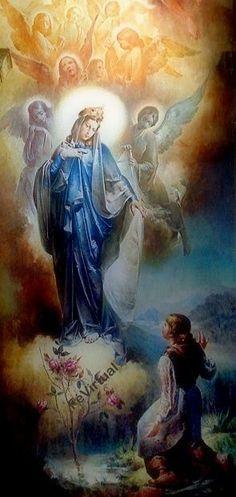 Nossa Senhora de Caravaggio Derramai sobre todos nós a vossa amorosa bênção Amém!