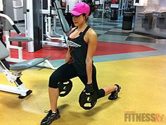 Booty Blaster Workout! Trying to tighten up those glutes for bikini season? Then grab those weights and get to work!