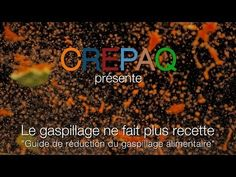 Le gaspillage ne fait plus recette : guide de réduction du gaspillage alimentaire (cantines) - YouTube